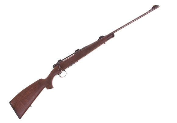 Picture of Used Heym SR21 Bolt Action Rifle, 300 Win Mag, 24'' Barrel w/Sights, Walnut Stock Rosewood Schnabel Forend, 1 Magazine, Excellent Condition