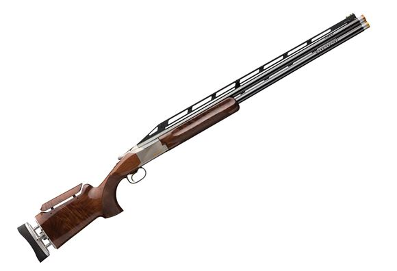 "Picture of Browning Citori 725 Trap MAX Adjustable Comb Over/Under Shotgun - 12Ga, 2-3/4"", 30"", Ported, High Vented Rib, Polished Blue, Silver Nitride Receiver, Grade V/VI Walnut Stock, HiViz Pro-Comp Front, Invector-DS Extended(M/IM/F)"