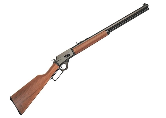 "Picture of Marlin 1894CB Lever Action Rifle, 44 Rem Mag, 20"" Octagonal, Blued, Walnut Straight Grip Stock, 10rds"