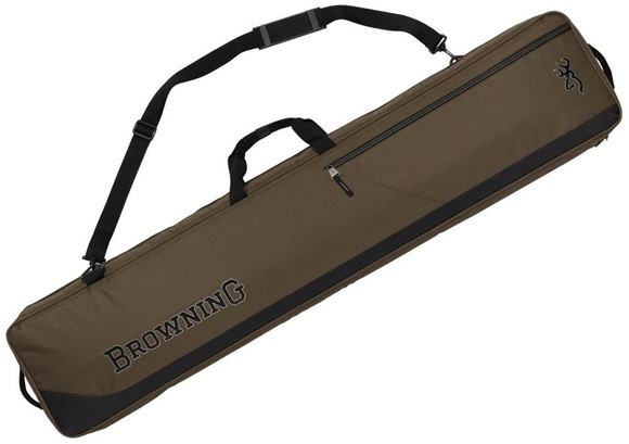 "Picture of Browning Gun Cases, Flexible Gun Cases - Marksman Scoped Rifle Case, 50"", Olive/Black, Heavy Duty Nylon Ripstop, Brushed Tricot Lining, Web Handle"