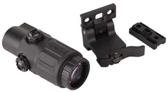 Picture of EOTech Holographic Weapon Sights - Model G33 Magnifier, 3x, Black, w/Switch To Side Quick Detach Lever Mount
