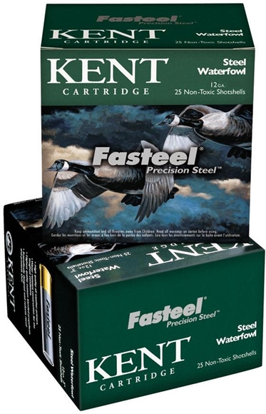 "Picture of Kent Fasteel Precision 2.0 Steel Waterfowl Shotgun Ammo - 12Ga, 3"", 1-1/8oz, #4, 250rds Case, 1560fps"
