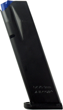 Picture of Mec-Gar Pistol Magazines - CZ 75B/85B/SP-01 Shadow, 9mm, 10rds, Blued, Full Metal Body
