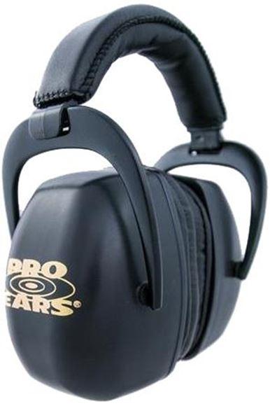 Picture of Pro Ears Ultra Series Passive Ear Muffs - Pro Ears Ultra Pro, Black, NRR 30