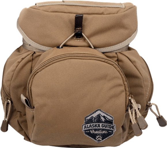Picture of Alaska Guide Creations Binocular Harness Packs - Alaska Classic Bino Pack, Coyote Brown, Fits Up To 12x50 Binoculars, & Large Rangefinders