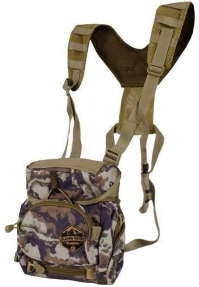 Picture of Alaska Guide Creations Binocular Harness Packs - Alaska Classic MAX Bino Pack, Fusion Camo, Fits Up To 12x50 Binoculars, & Large Rangefinders