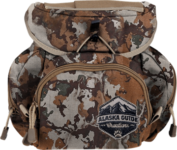 Picture of Alaska Guide Creations Binocular Harness Packs - Kodiak Cub Bino Pack, Fusion Camo, Fits Up To 10x42 Binoculars, & Medium Sized Rangefinders