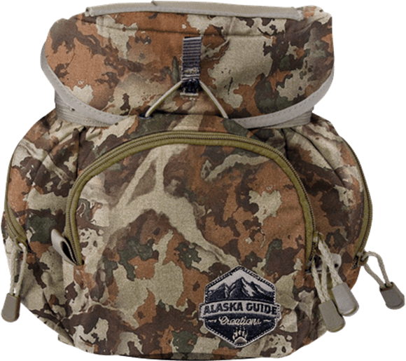 Picture of Alaska Guide Creations Binocular Harness Packs - Denali Bino Pack, Fusion Camo, Fits Up To 15x56 Binoculars, & Extra Large Rangefinders