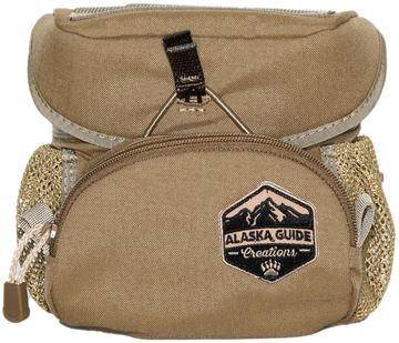 Picture of Alaska Guide Creations Binocular Harness Packs - Hybrid Bino Pack, Coyote Brown, Fits Up To 10x42 Binoculars, & Medium Sized Rangefinders