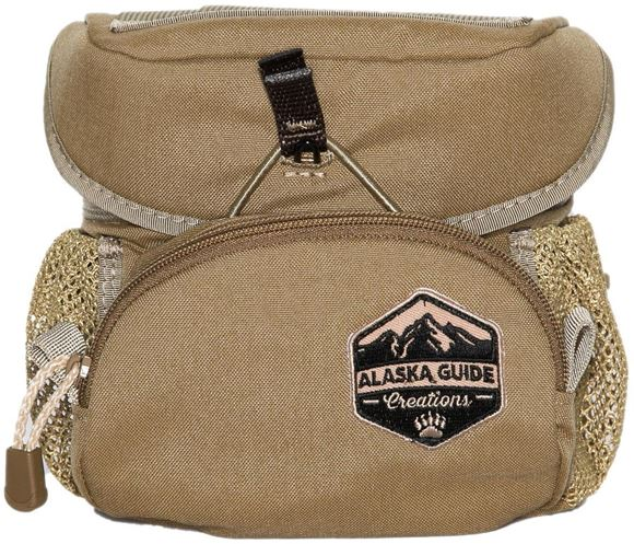 Picture of Alaska Guide Creations Binocular Harness Packs - Hybrid Bino Pack, Coyote Brown, Fits Up To 10x42 Binoculars, & Medium Sized Rangefinders
