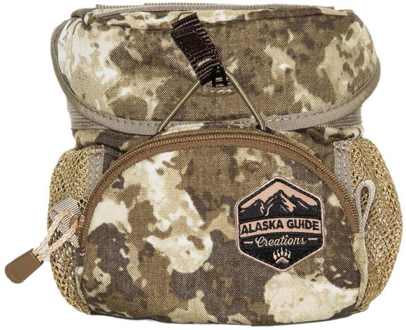 Picture of Alaska Guide Creations Binocular Harness Packs - Hybrid Bino Pack, Cipher Camo, Fits Up To 10x42 Binoculars, & Medium Sized Rangefinders