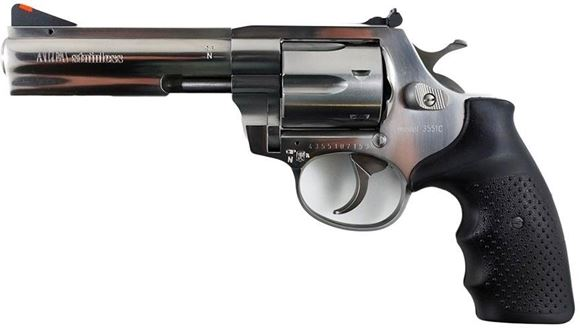 "Picture of Alfa-Proj ALFA Steel 3551 DA/SA Revolver - 357 Mag, 4.5"", Stainless Steel, 6rds, Adjustable Sight"