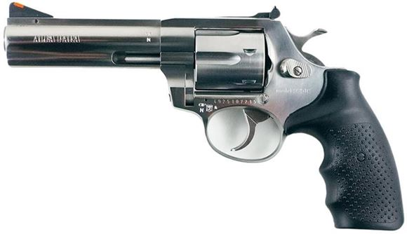 "Picture of Alfa-Proj ALFA Classic Steel 9251 DA/SA Revolver - 9mm, 4.5"", Stainless Steel, 6rds, Adjustable Sight"