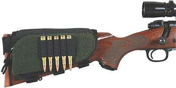 Picture of Allen Shooting Accessories, Shell Holders - Adjustable Buttstock Shell Holder, Universal Fit, Rifle, 5 Cartridges