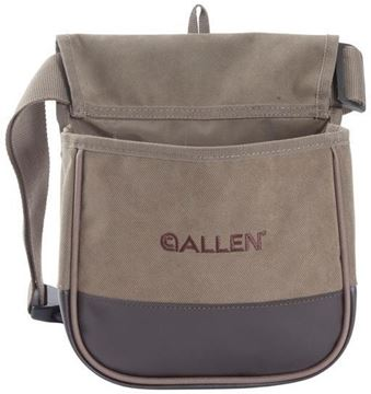 Picture of Allen Shooting Accessories, Shooting Bags - Select Canvas Double Compartment Shell Bag
