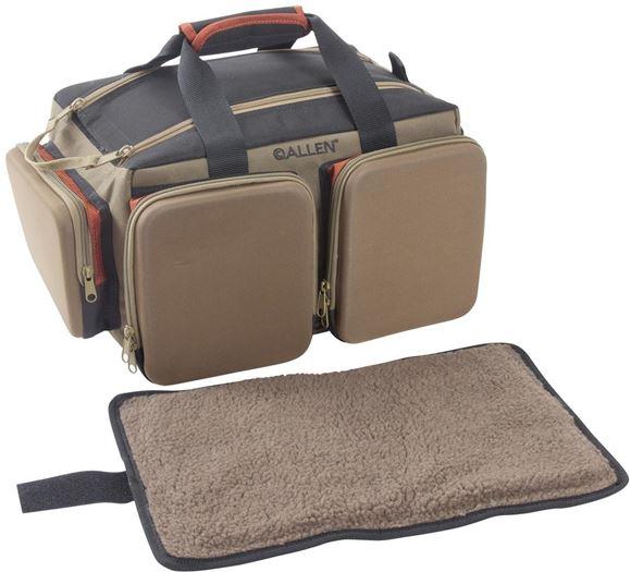 Picture of Allen Shooting Accessories, Shooting Bags - Eliminator Rangemaster Range Bag, Coffee/Black