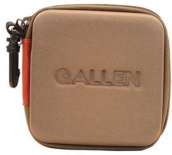 Picture of Allen Shooting Accessories, Shooting Bags - Eliminator Choke Tube Case, Holds 6 Choke Tubes, Black/Coffee/Copper