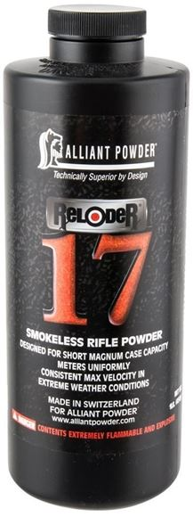 Picture of Alliant Rifle Powder - Reloader 17, 1 lb