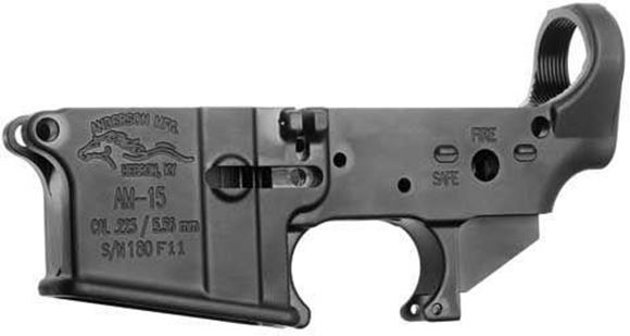 Picture of Anderson Manufacturing Lower Receivers - AR-15 Stripped Lower, 7075-T6, Multi Caliber