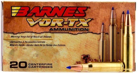 Picture of Barnes VOR-TX Premium Hunting Rifle Ammo - 300 Win Mag, 165Gr, TTSX BT, 200rds case