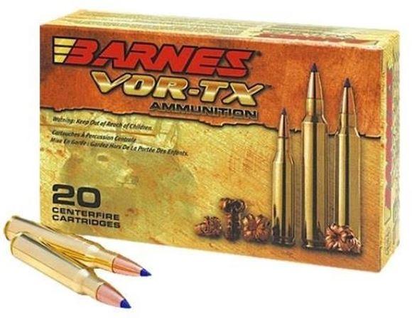 Picture of Barnes VOR-TX Safari Premium Big Game Hunting Rifle Ammo - 375 H&H, 300Gr, TSX, 20rds Box