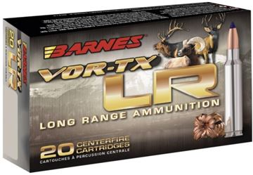 Picture of Barnes VOR-TX Rifle Ammo - 6.5 Creedmoor, 127gr, LRX, 2825FPS, 20rds Box