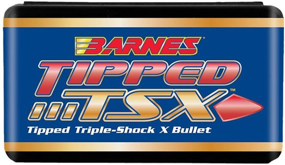 "Picture of Barnes Tipped Triple-Shock X (TTSX) Bullets - 35 Caliber(358""), 180 Grain, Spitzer Flat Base, 50ct"