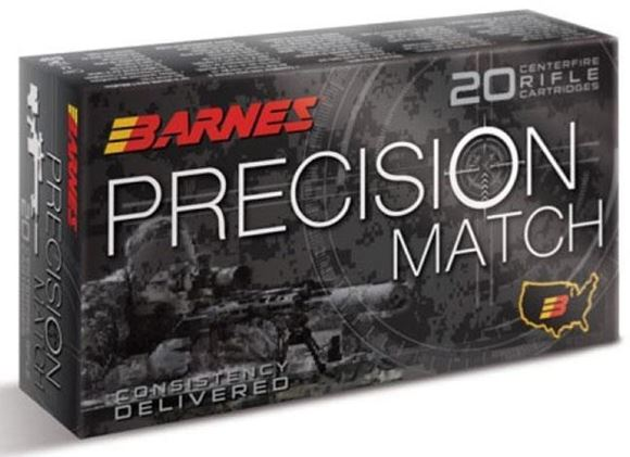 Picture of Barnes Precision Match Rifle Ammunition - 308 Win, 175 Gr, Open-Tip Match (OTM), 20rds Box