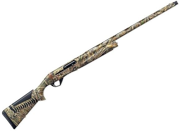 """Picture of Benelli Super Black Eagle III Semi-Auto Shotgun - 12Ga, 3.5"""", 28"""", Vented Rib, Realtree Max-5 Camo, Synthetic Stock w/ComforTech, 3rds, Red-Bar Front & Metal Mid-Bead Sights, Crio Chokes (C,IM,F)Extended(IC,M)"""