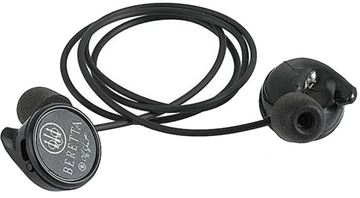 Picture of Beretta Mini Headset Hearing Protection - 25dB, Muti Size Eartips(S/M/L), Comes w/ Carry Case, Black