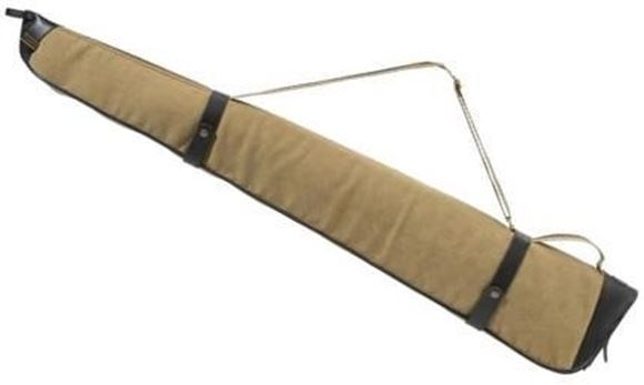 "Picture of Beretta Terrain Gun Case - 52"", Brown / Beige, Cotton Canvas & Leather"