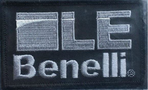 Picture of Beretta Caps - Velcro Tactical Patch, Benelli LE, Silver w/Black
