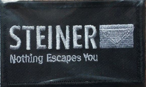 Picture of Beretta Caps - Velcro Tactical Patch, Steiner, Silver w/Black