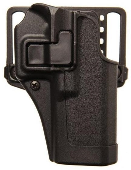 """Picture of Blackhawk Holsters & Duty Gear, Holsters, Concealment, Injection Molded - SERPA CQC Concealment Holster Matte Finish, Springfield XD 45 Compact & XD 4"""", Right Hand, Black"""