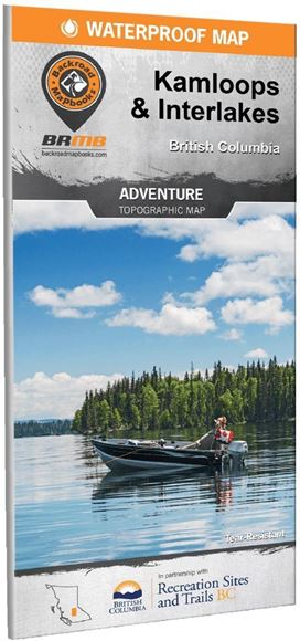 Picture of Backroad Mapbooks, Adventure Map - British Columbia, Kamloops & Interlakes, 3rd Edition