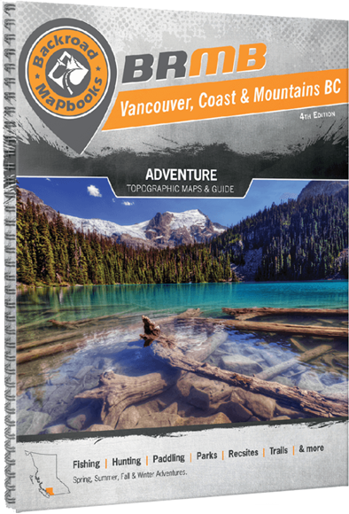 Picture of Backroad Mapbooks, Backroad Mapbook - British Columbia, Vancouver, Coast & Mountains BC, Western Canada, 4rd Edition