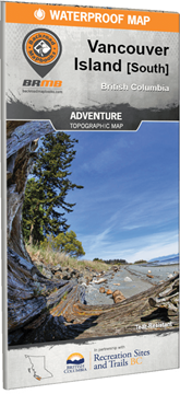 Picture of Backroad Mapbooks, Adventure Map - British Columbia, Vancouver Island South, 1st Edition 2017