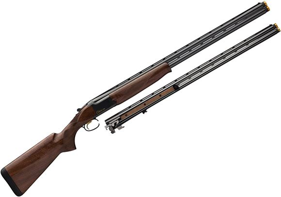 """Picture of Browning Citori CXS Combo Over/Under Shotgun - 12Ga/20ga, 3"""", 30"""", Lightweight Profile, Vented Rib, High Polished Blued, High Polished Blued Steel Receiver, Gloss Grade II American Walnut Stock, Ivory Bead Front & Mid-Bead Sights, Invector-Plus Midas Ext"""