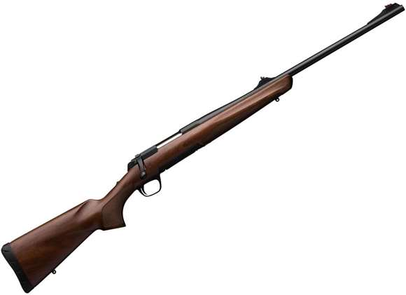 "Picture of Browning X Bolt Hunter w/ Sight Bolt Action Rifle - 30-06, 22"", Sporter Contour, Matte Blued, Satin Grade I Black Walnut Stock, 4rds, Feather Trigger, Adjustable Fiber-Optic Sights"