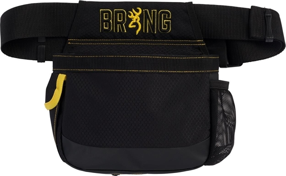 Picture of Browning Shooting Accessories, Bags & Pouches - Range Gear Shell Pouch, Nylon Mesh Pouch, Black