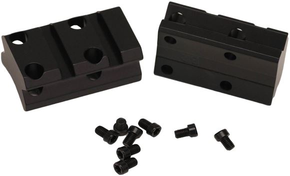 Picture of Browning Scope Rings & Bases, Weaver-Style Scope Bases - X-Bolt, Two Piece, Matte Black, Alloy