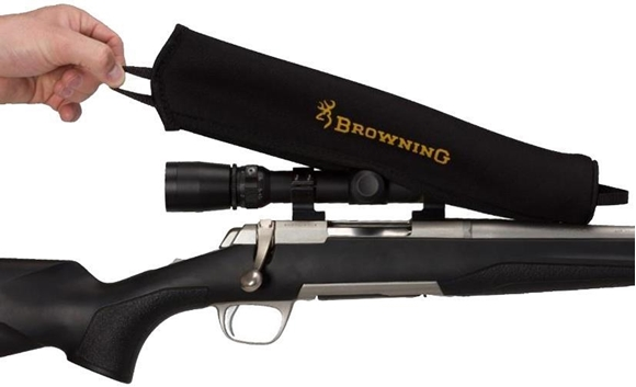 Picture of Browning Shooting Accessories - Neoprene Scope Cover, Large, Fits 50mm Lens, Black