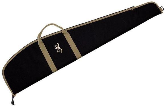 Picture of Browning Gun Cases, Flexible Gun Cases - Plainsman Scoped Rifle Case, 44S, Black, 600 Denier Polyester Canvas