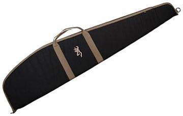 Picture of Browning Gun Cases, Flexible Gun Cases - Plainsman Scoped Rifle Case, 48S, Black, 600 Denier Polyester Canvas