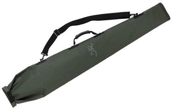 "Picture of Browning Gun Cases, Flexible Gun Cases - Marksman Dry Bag, 53"", Olive/Black, Heavy Duty Waterproof Tarpaulin Shell, Molded Soft Polymer Handle"