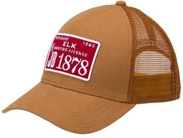 Picture of Browning Cap - Elk Hunting Licence Patch, Breeze Mesh Back Cap, Burnt Bronze, Adult Adjustable Fit