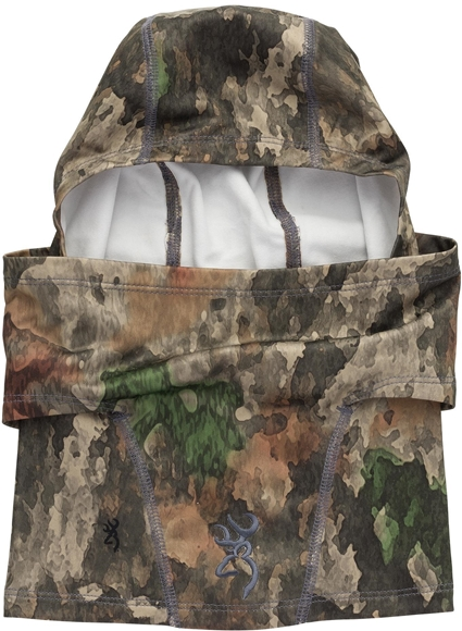 Picture of Browning Headwear - Hell's Canyon Speed Riser-FM Balaclava, ATACS Foliage/Green
