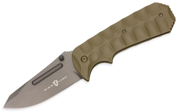 Picture of Browning Knives - Black Label Unleashed Assisted Open, Titanium Coated Stainless Steel Blade, Coyote Tan G-10 Handle