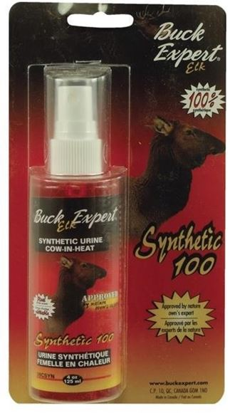 Picture of Buck Expert Synthetic Urine - Synthetic Cow-In-Heat Urine, Elk, 4 oz/125 ml