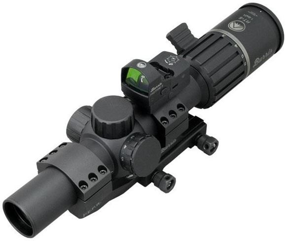 Picture of Burris Optics RT6 Rifle Scope - 1-6x 24mm, 30mm, Illuminated Ballistic AR Reticle, Matte Black, Comes w/ FastFire III & P.E.P.R. Mount